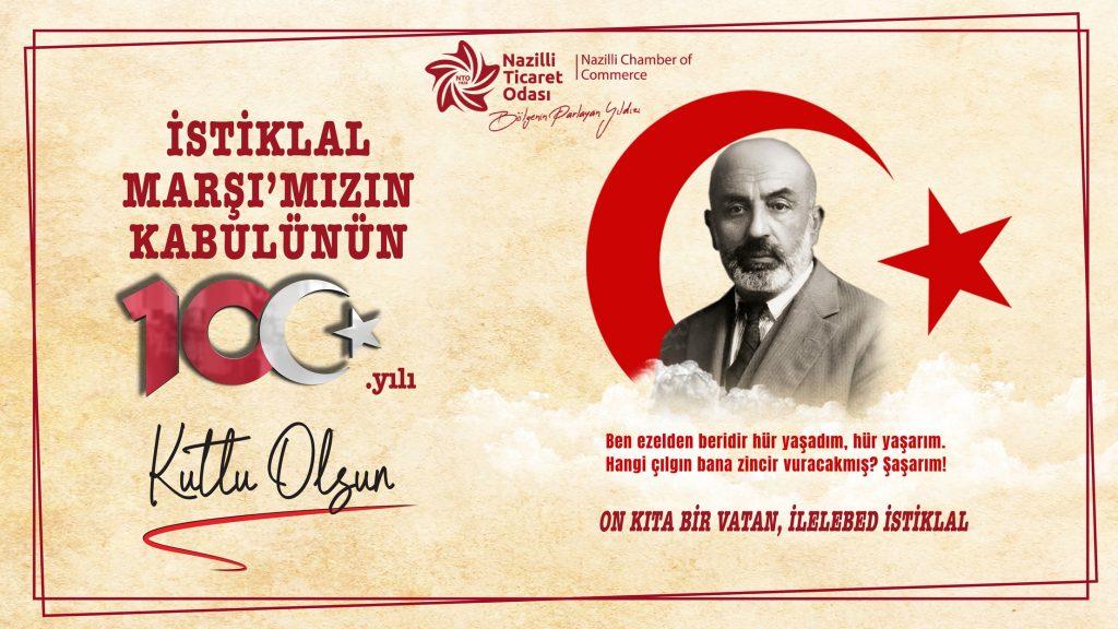 İstiklal Marşı 100 Yaşında !!!