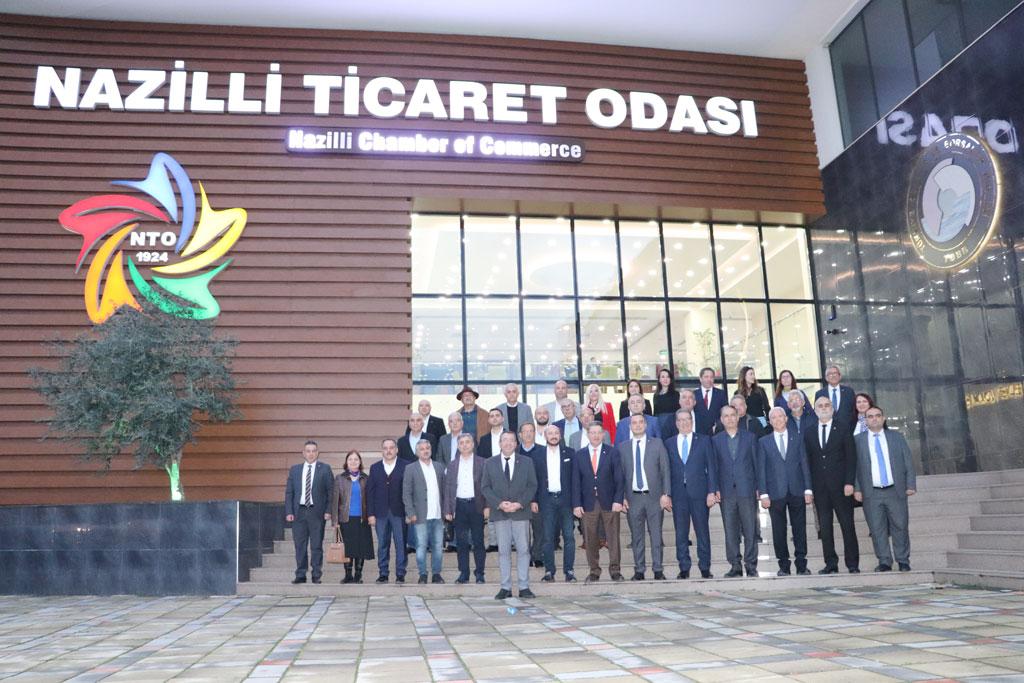 Nazilli'de Aydın İli Oda Ve Borsaları İle Güç Birliği Toplantısı Yapıldı