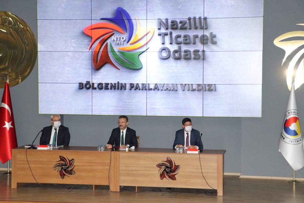 Aydın Valisi Hüseyin Aksoy, Nazilli Mahalle Muhtarları İle Toplantı Düzenledi.