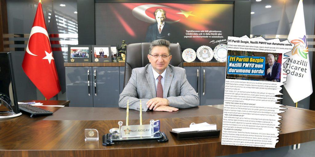 Milletvekili Aydın Adnan Sezgin'in Polis M.Y.O ile İlgili Önergesine Odamızdan Tam Destek