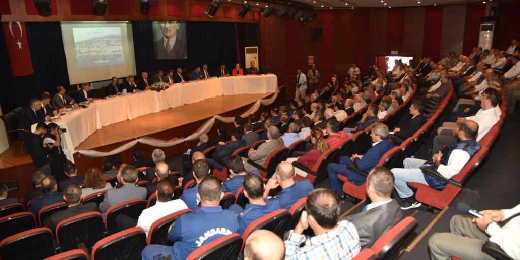 Nazilli Bilgilendirme Toplantısı'na Odamız Yönetim Kurulu Başkanı Nuri Arslan Katılım Gösterdi.