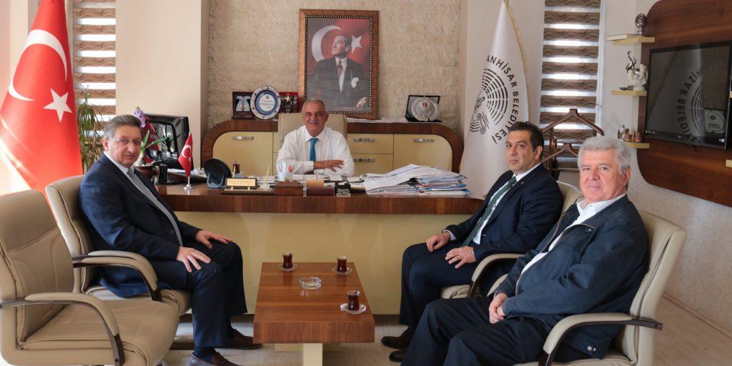 Sultanhisar Belediye Başkanına Odamızdan Ziyaret