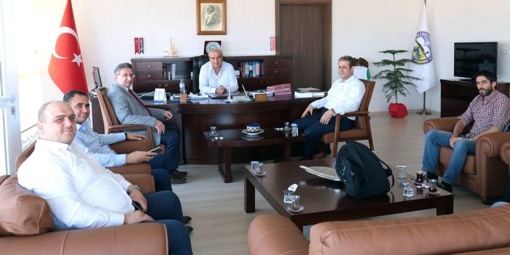 Bozdoğan Belediye Başkanı S. Tümer Apaydın'a Ziyaret