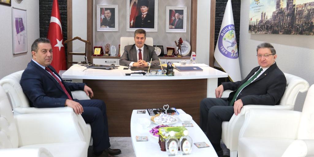 Buharkent Belediye Başkanı Mehmet Erol'a Odamızdan Ziyaret