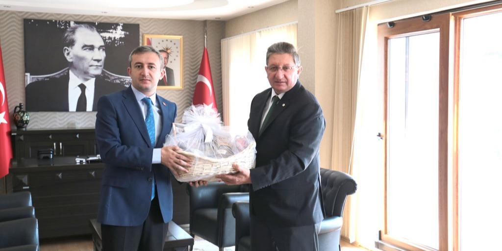 Odamız Başkanlarından Yeni Atanan Buharkent Kaymakamına Ziyaret
