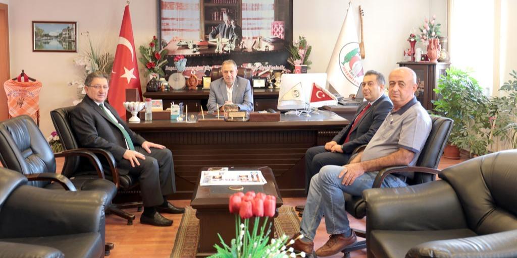 Karacasu Belediye Başkanı Büyükyapıcı'ya Odamızdan Ziyaret