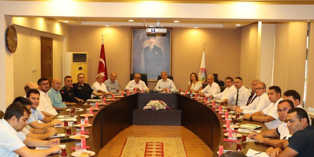 Nazilli İlçesi Hayat Boyu Öğrenme Komisyon Toplantısı