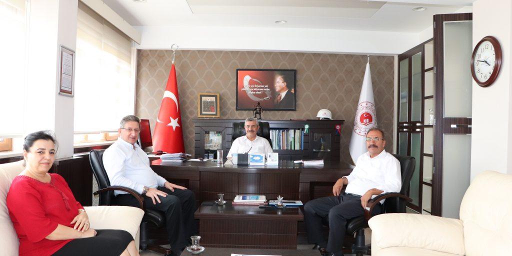 Odamız Yönetim Kurulu Başkanı Nuri Arslan, Aydın Çevre ve Şehircilik Bakanlığı'nı Ziyaret Etti.