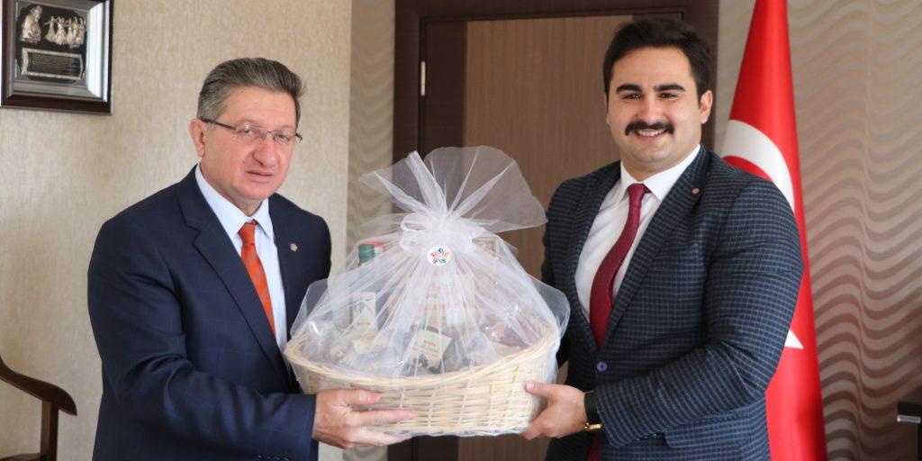 Yeni Atanan Buharkent Kaymakamı Kemal Ülkü'yü Makamında Ziyaret Ettik