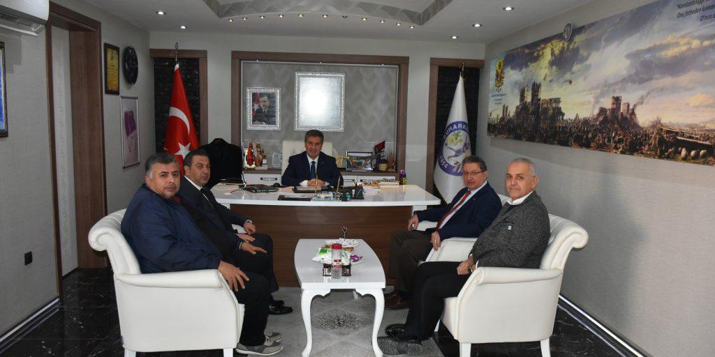 Buharkent Belediye Başkanı Mehmet Erol'u Makamında Ziyaret Ettik