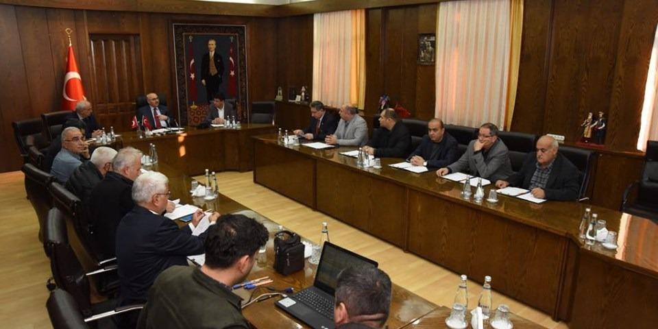 Aydın Valisi Yavuz Selim Köşger Başkanlığında Yapılan Nazilli OSB Müteşebbis Heyet Toplantısına Katıldık