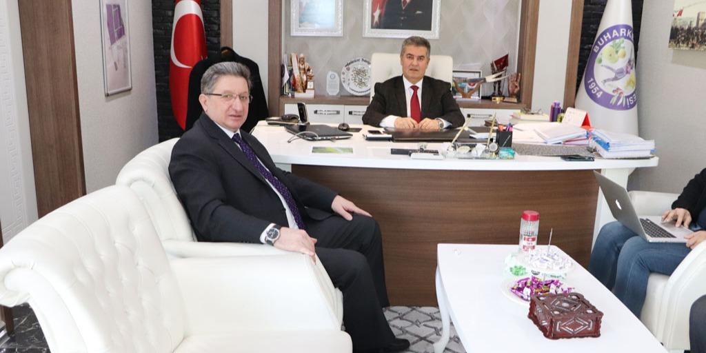 Buharkent Belediye Başkanı Mehmet Erol İle Yapılan Toplantı