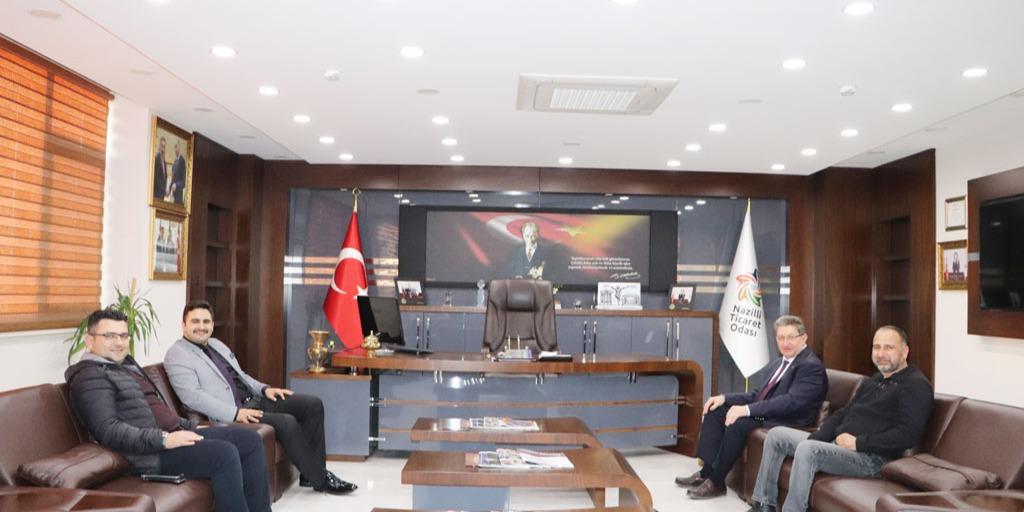 Buharkent Kaymakamı İle Yapılan Toplantı