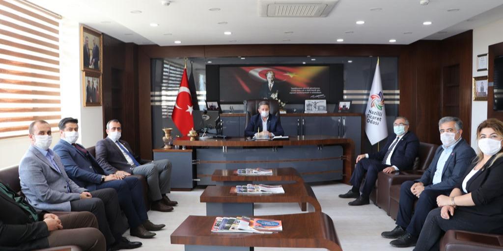 Chp Aydın Milletvekili Süleyman Bülbül 'Den Odamıza Ziyaret
