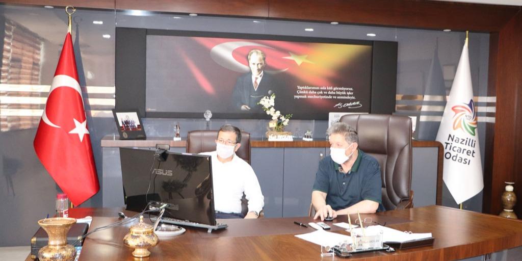 Nto Olağan Yönetim Kurulu Toplantısı Aydın Milletvekili B. Kuvvet Erim'in Katılımı İle Gerçekleşti
