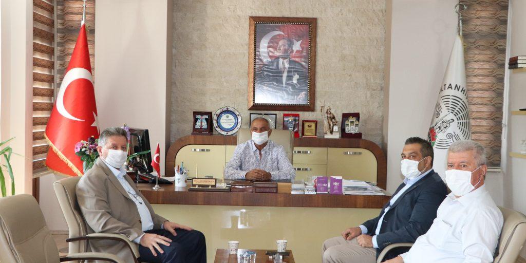 Sultanhisar Belediye Başkanı'nı Ziyaret Ettik