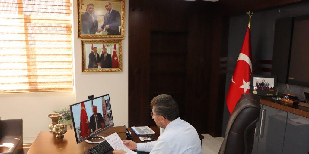 Tobb Oda Ve Borsa Başkanları Sanayi Ve Teknoloji Bakanı Mustafa Varank İle Yapılan Onlıne Toplantıda Buluştu