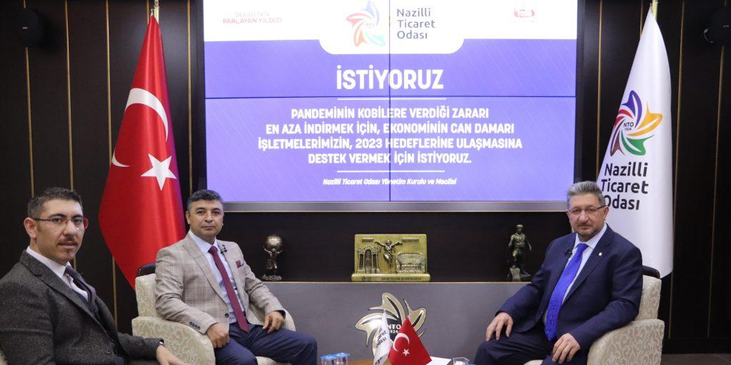 Yönetim Kurulu Başkanı Nuri Arslan Gündemi ve Bölge Ekonomisini Ege TV'den Değerlendirdi