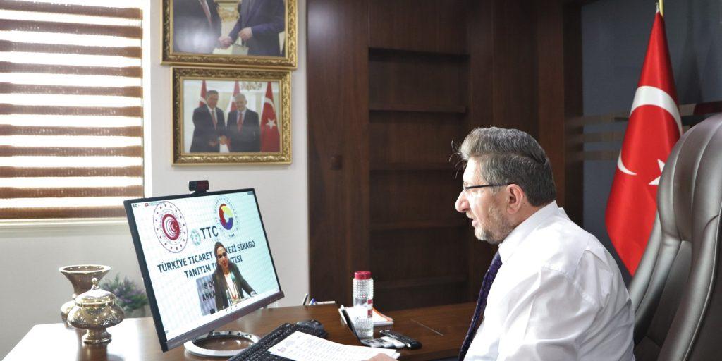 Türkiye ticaret merkezi Şikago tanıtım toplantısı