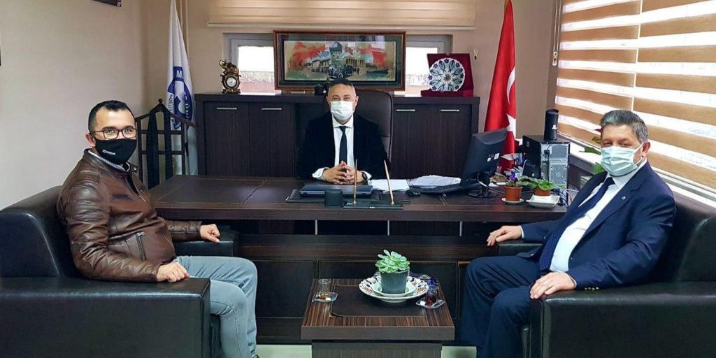 Yönetim kurulu başkanı Nuri Arslan nazilli sağlık hizmetleri meslek yüksek okulunu ziyaret etti