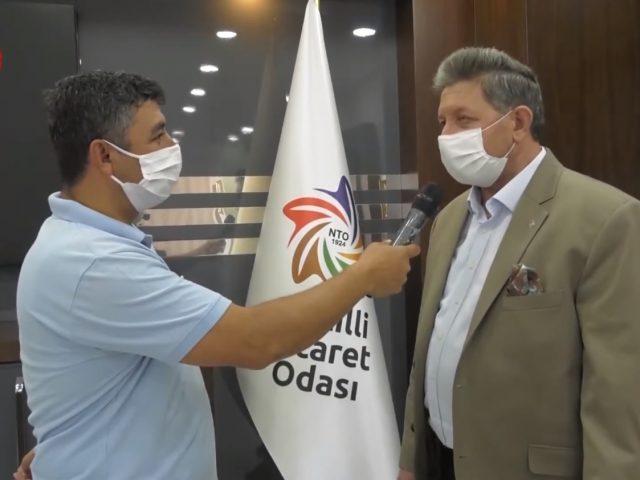 Nazilli Ticaret Odası Yönetim Kurulu Başkanı Nuri Arslan Egede Yaz ' a Konuk Oldu.