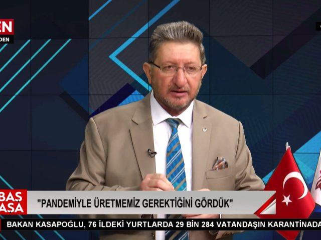 Baş Başa Programının Konuğu Nazilli Ticaret Odası Başkanı Nuri Arslan