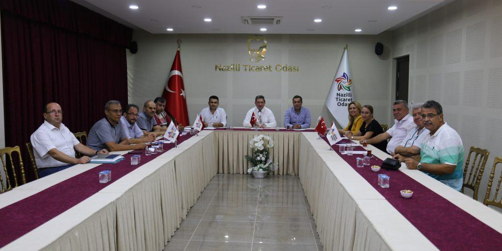 NTO Ağustos Ayı Yüksek İstişare Kurulu Toplantısı Yapıldı.