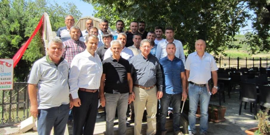 Odamız Bozdoğan'da Faaliyet Gösteren Mermercilerle Toplantı Düzenledi.