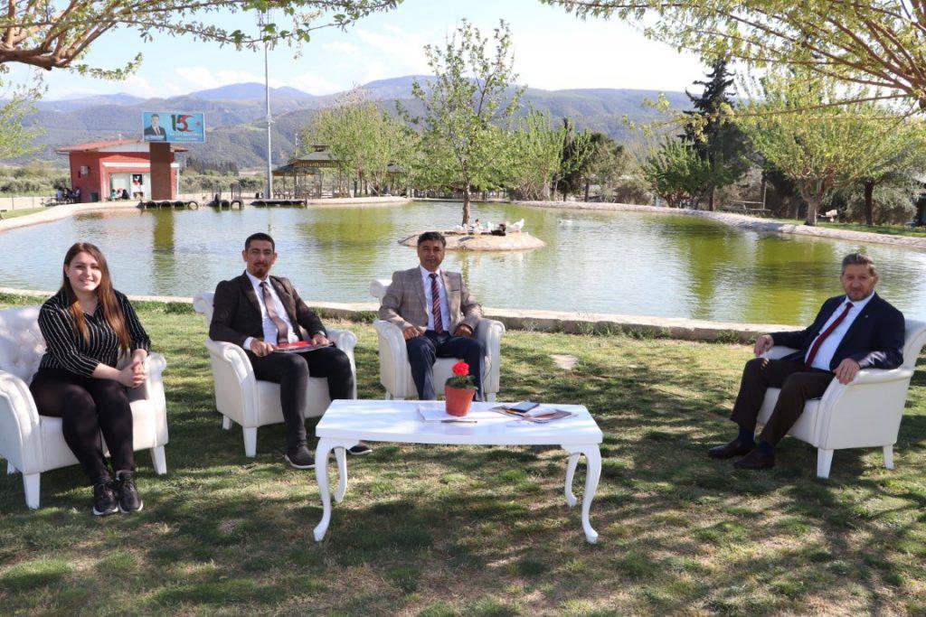 Başkan Nuri ARSLAN Ege TV Gazeteciler Soruyor Programına Katıldı