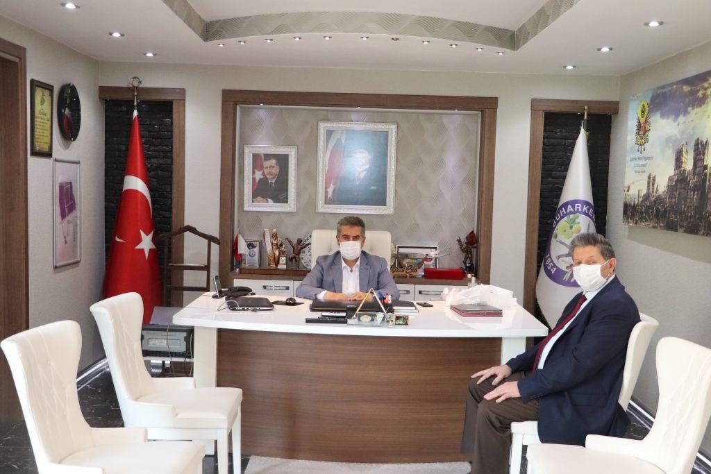 Buharkent Belediye Başkanı EROL' a Ziyaret