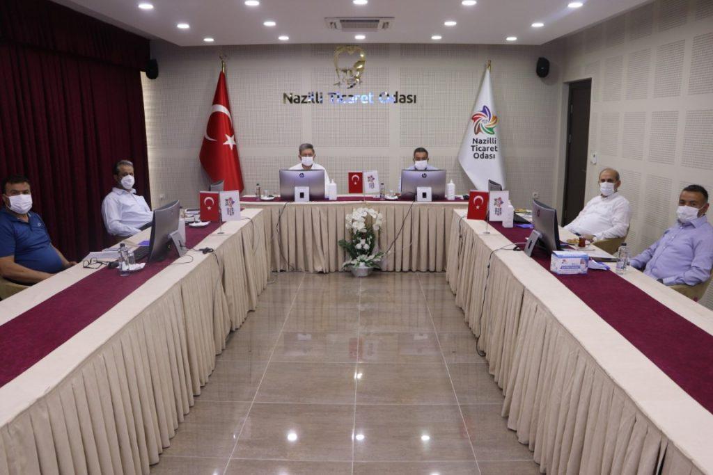 Nazilli Ticaret Odası TOBB´un 76. ve 77. Genel Kuruluna Katıldı