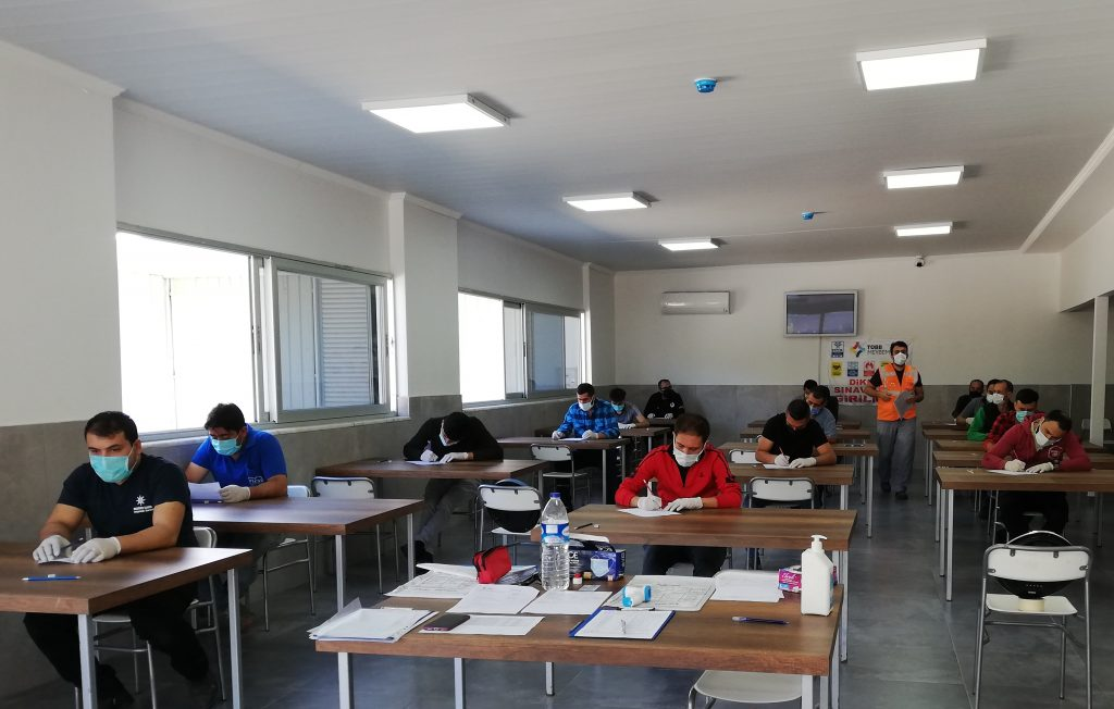 Nazilli Ticaret Odası Tarafından Makina Bakımcı Mesleki Yeterlilik Belgesi Sınavı Yapıldı