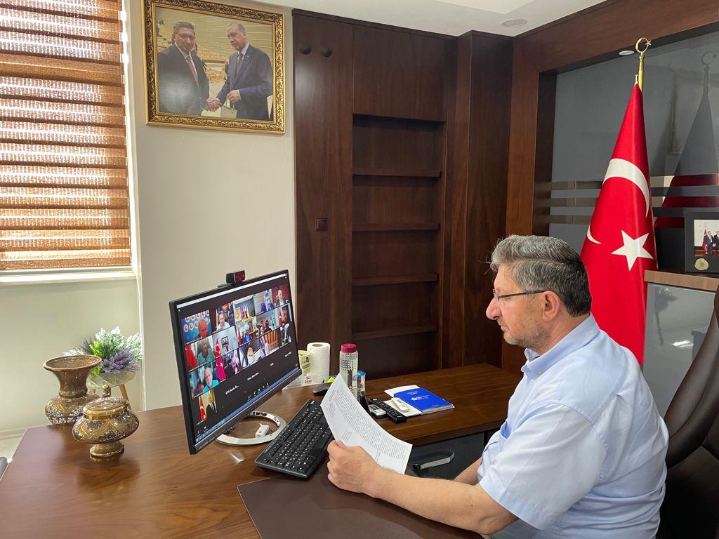 """""""Türkiye Odalar ve Borsalar Birliği Müşterek Konseyi Hazırlık Toplantısı Online Olarak Gerçekleşti."""