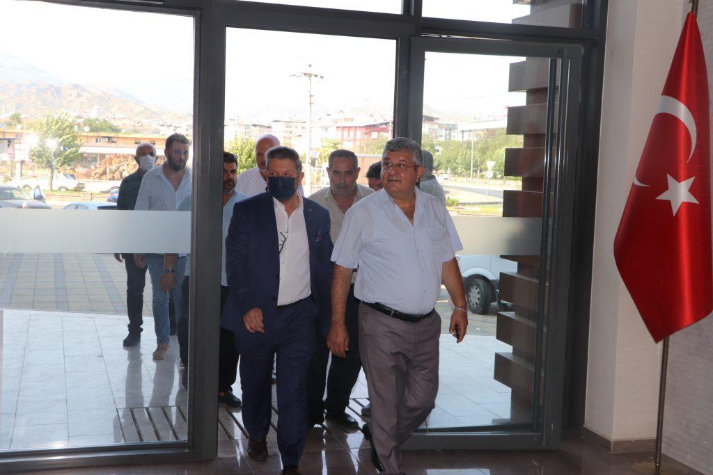 Ak Parti Aydın Milletvekili Rıza POSACI 'Dan Odamıza Ziyaret