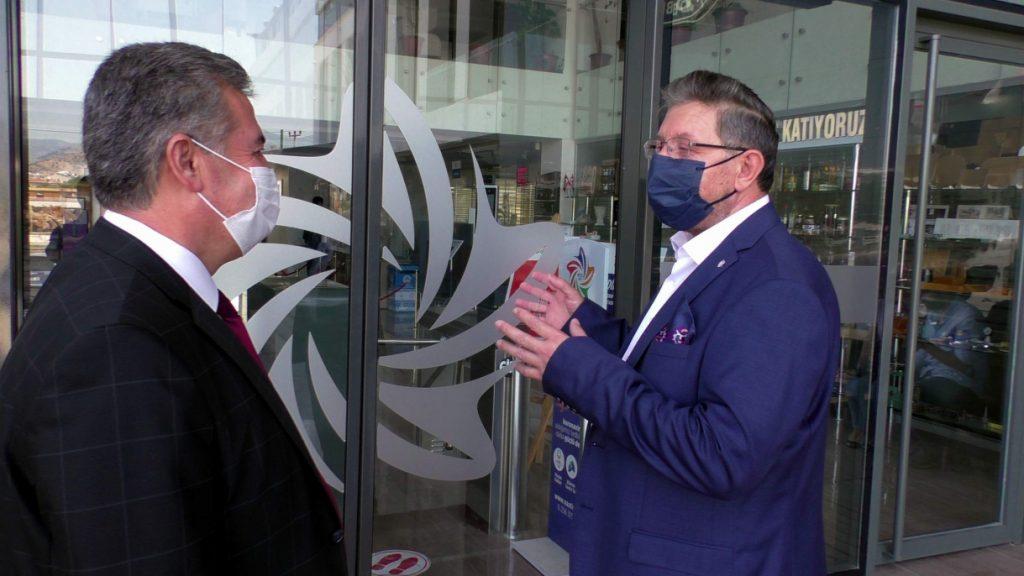 Buharkent Belediye Başkanı Mehmet Erol Odamızı Ziyaret Etti.