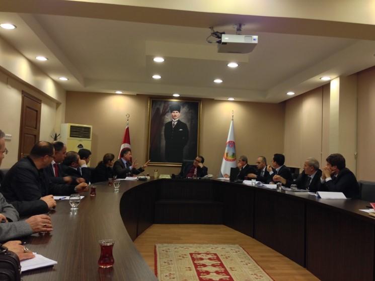 2014.02.11-Nazilli Kaymakamlığında yapılan toplantı