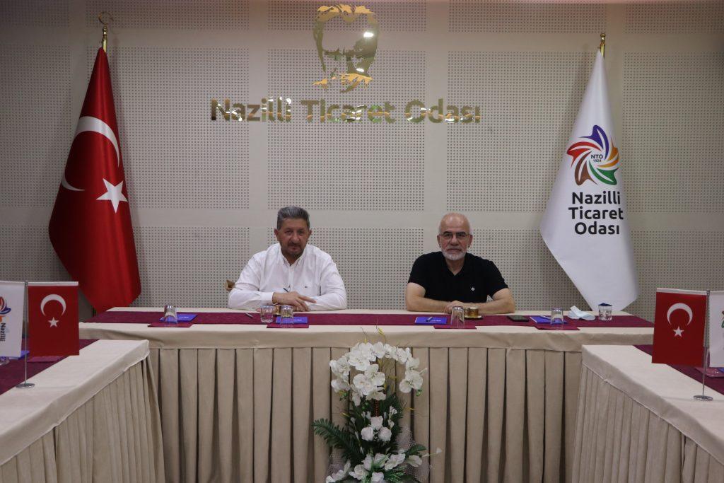 İstanbul Ticaret Odası Genel Sekreteri Prof.Dr. Nihat Alayoğlu Ve Beraberindeki Heyet Nazilli Ve Bölgesinde  İncelemelerde Bulundu