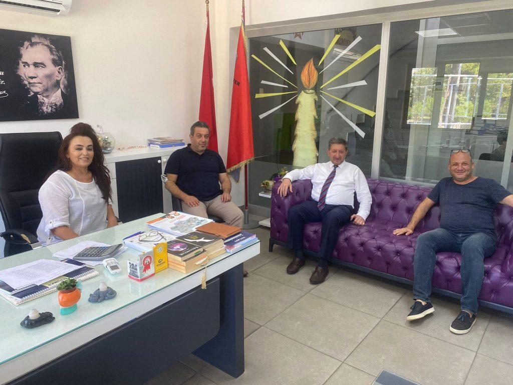 Nazilli Ticaret Odasından Özel Eğitim Kurumlarına Ziyaret