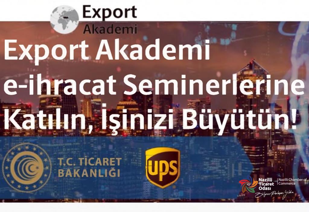 Online Export Akademi (30 Eylül 2021)